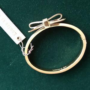 NWT Louise et Cie Bow Bracelet